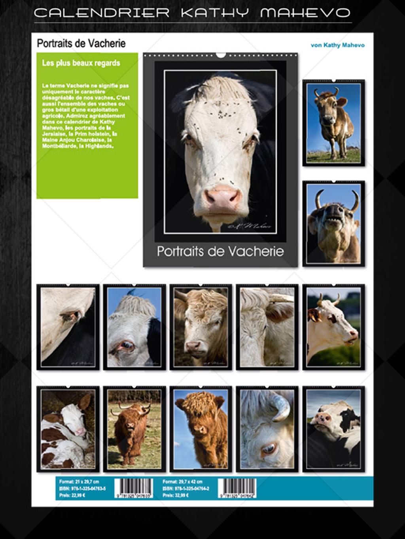 004 portraits de vacherieb livre affiche 1